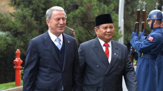 Bertemu Erdogan, Prabowo Sampaikan Salam dari Jokowi (242113)