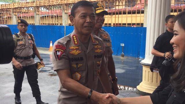 Kapolri Jenderal Pol Idham Azis di Polda Papua