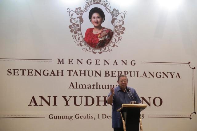 Foto: Mengenang 6 Bulan Wafatnya Ani Yudhoyono (101434)