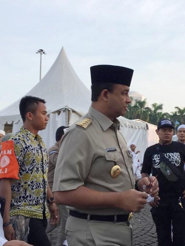 Anies Hadiri Reuni 212: Selamat Datang Gubernur Indonesia (136716)
