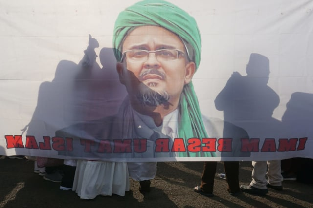 Polri Pelajari Ucapan Habib Rizieq yang akan Pimpin Revolusi di Indonesia (233495)