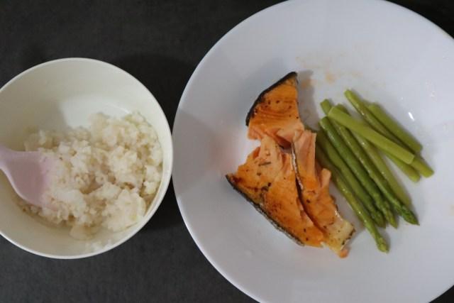 Persiapan Membuat Puree Ikan Salmon untuk Makanan Bayi