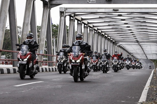 otomotif, Honda, Honda ADV 150, touring, HBD