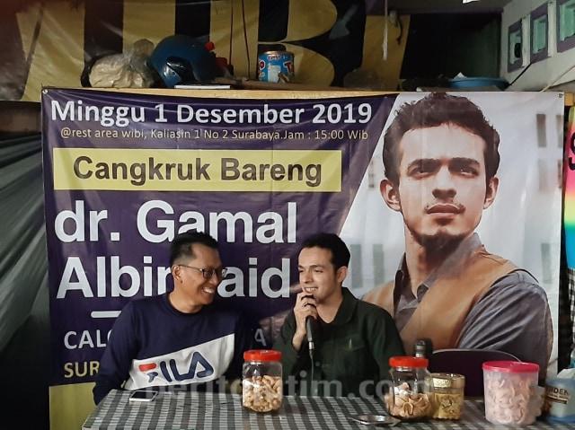 Eks Jubir Prabowo-Sandi, Gamal Albinsaid, Maju Pilwalkot Surabaya (339219)