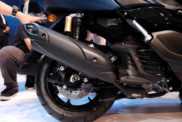 Otomotif, Yamaha NMax, NMax, All New NMax 155, motor baru 20
