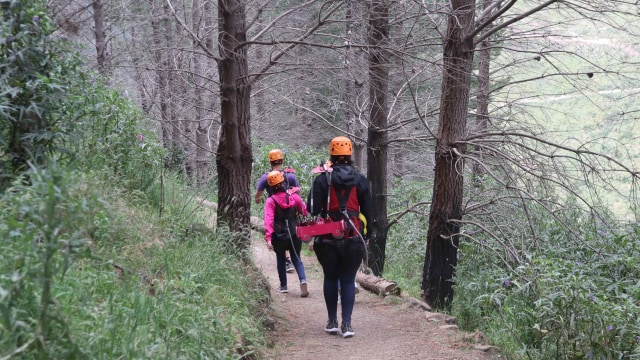 Taklukkan Fobia demi Ziplining Tertinggi, Terpanjang di Selandia Baru (224754)