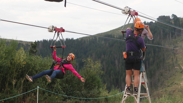 Taklukkan Fobia demi Ziplining Tertinggi, Terpanjang di Selandia Baru (224755)