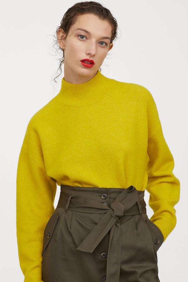 H&M - Knitted Turtleneck Jumper