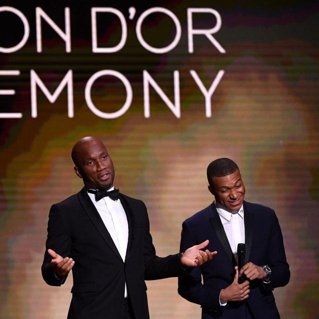 Didier Drogba dan Kylian Mbappe