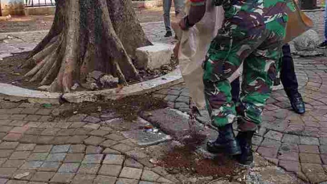 Ledakan di Monas, Anggota TNI