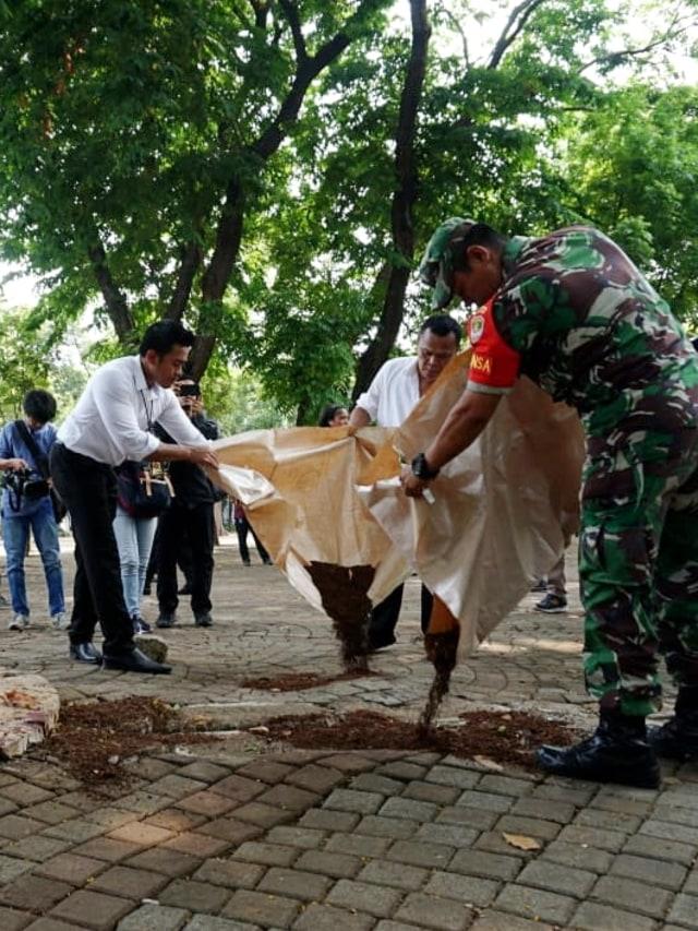 PTR, Ledakan di Monas, Olah TKP