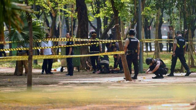 Ledakan di Jalan Medan Merdeka Utara