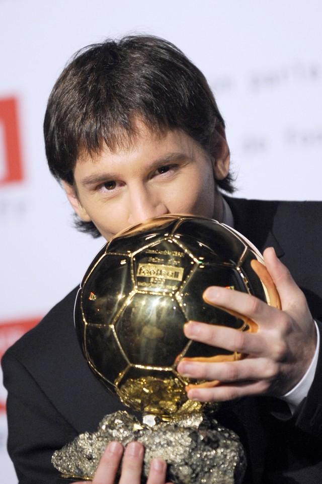 Lionel Messi, Ballon d'Or 2009, POTRAIT