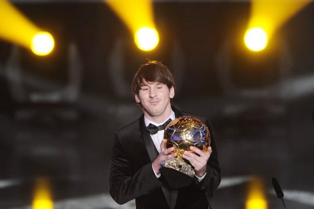 Lionel Messi, Ballon d'Or 2010