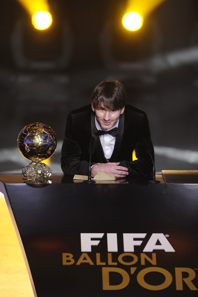 Lionel Messi, Ballon d'Or 2010, POTRAIT