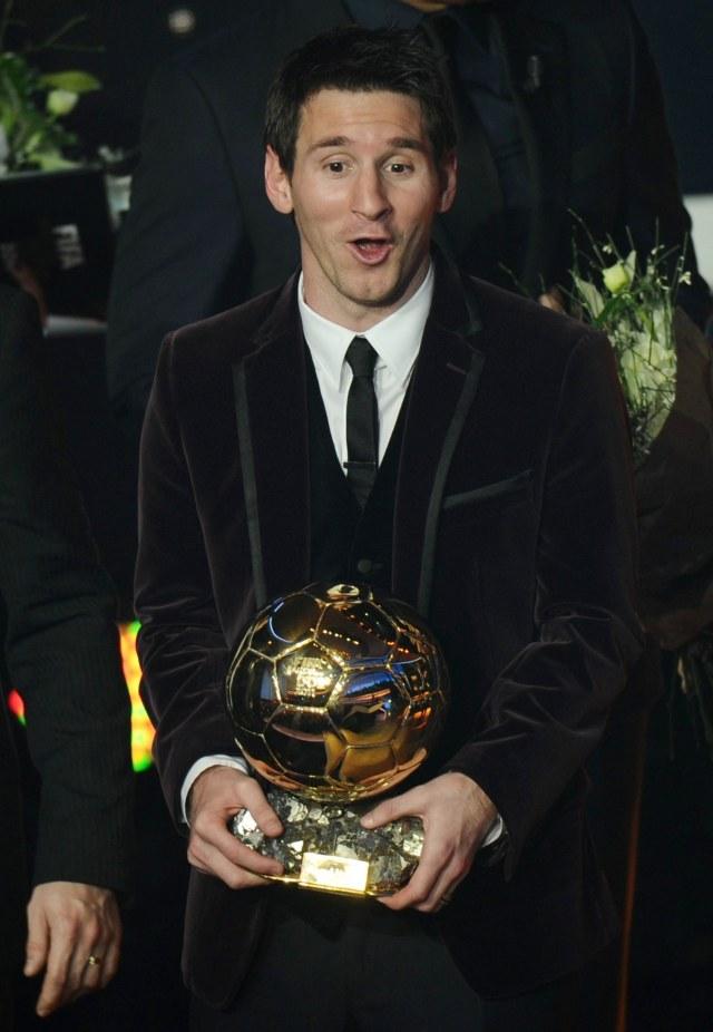 Lionel Messi, Ballon d'Or 2011, POTRAIT