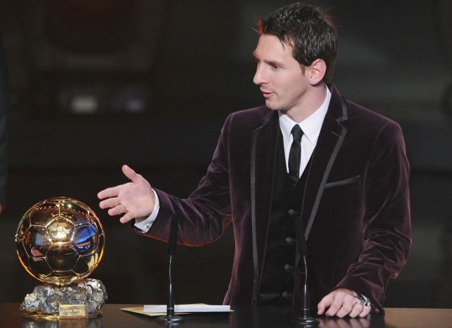 Lionel Messi, Ballon d'Or 2011