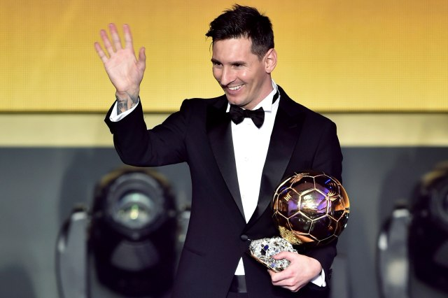 Lionel Messi, Ballon d'Or 2015
