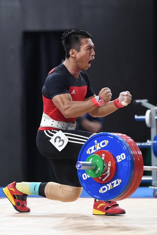 PTR, Lifter Indonesia Deni, Medali Emas