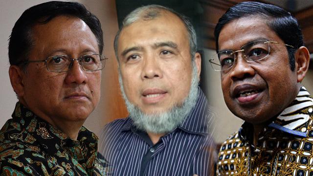 Irman Gusman, Patrialis Akbar dan Idrus Marham