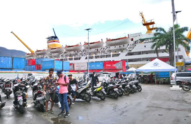 Belum Ada Lonjakan Penumpang Kapal Laut di Kota Jayapura (315274)