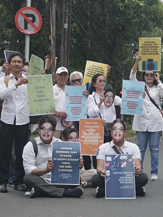 PTR, Aksi Mendukung Transparansi APBD di DPRD Jakarta
