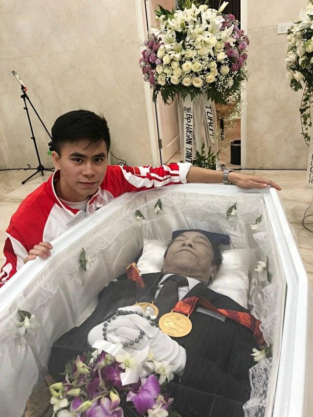 PTR, Edgar Xavier Marvelo, Mempersembahkan medali emas