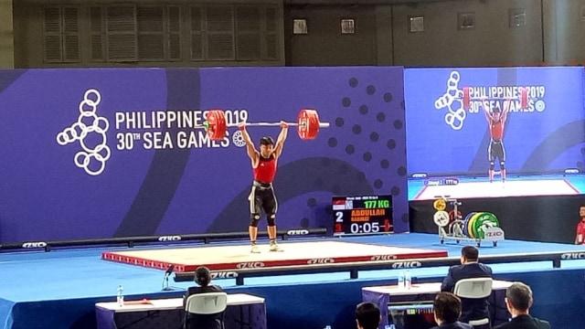 Rahmat Erwin Abdullah meraih medali emas