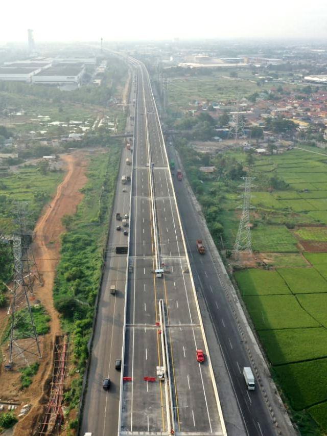 Dirlantas Polda Metro: Tol Layang Japek Ditutup Selama Larangan Mudik (1113307)