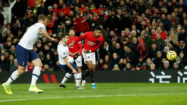 Manchester United vs Tottenham Hotspur.