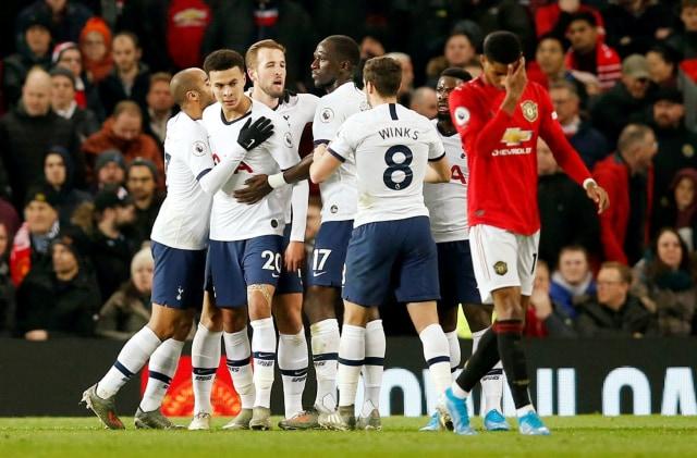 Laga Manchester United vs Tottenham Hotspur.