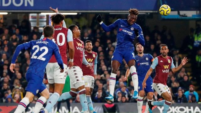 Laga Chelsea vs Aston Villa.