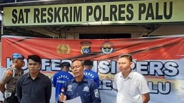 Polisi Tangkap Pelaku Pembacokan Pekerja Proyek di Kantor BPN Palu (746651)