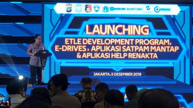 Kapolda Metro Jaya, launching ETLE