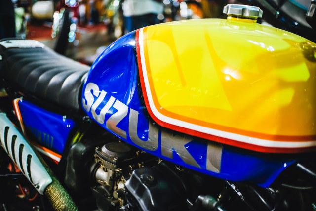 Suzui GSX750  Police Scrambler