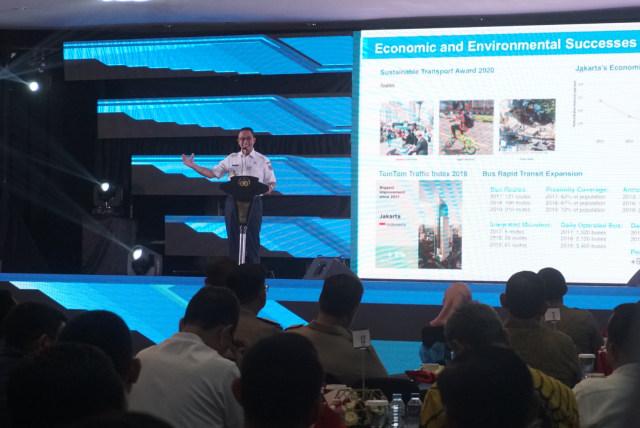 Gubernur DKI Jakarta Anies Baswedan, ETLE