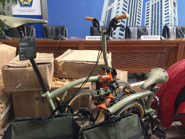 Barang Selundupan Sepeda Brompton