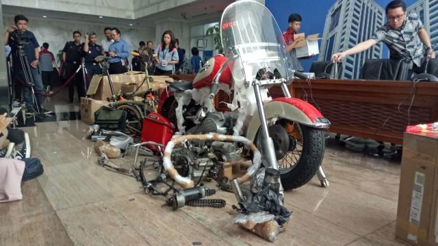 Selundupkan Harley dan Brompton, Garuda Bayar Denda Rp 100 Juta (25526)