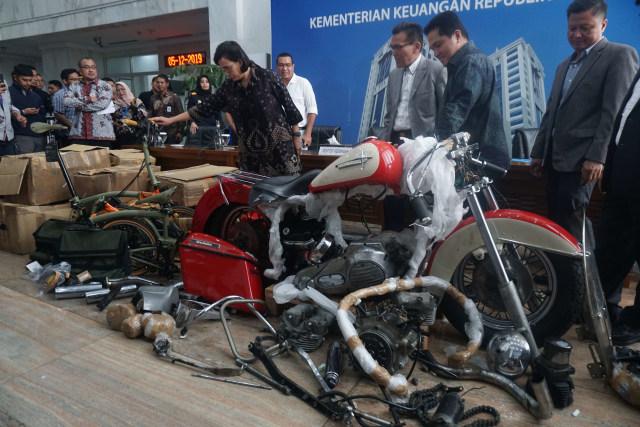 Sri Mulyani, Erick Thohi, Brompton, Harley Davidson