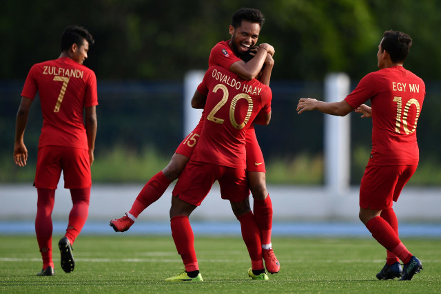 Timnas U-23 Indonesia vs Laos