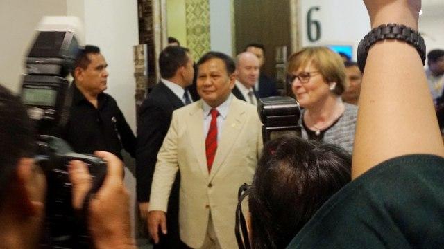 Menhan Prabowo bertemu Menlu Menhan Australia