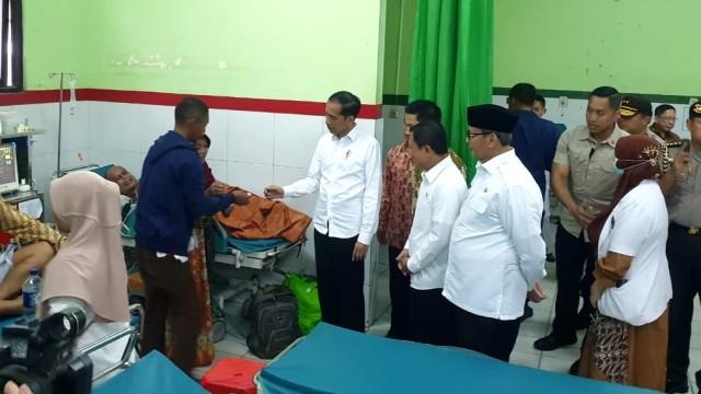 Terawan dampingi Jokowi sidak ke RSUD Cilegon