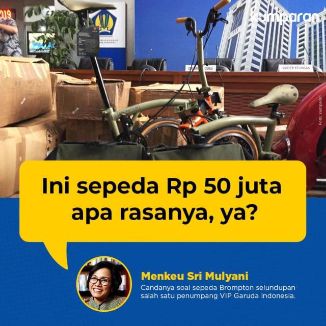 Sepeda Brompton Bikin Heboh, Sri Mulyani Juga Pernah Pakai (269824)