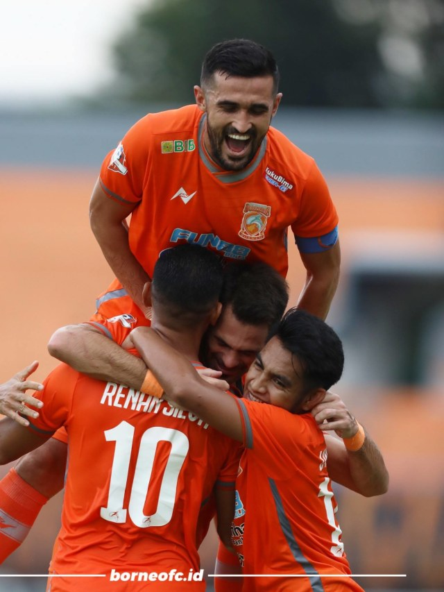 Hat-trick Matias Conti Bawa Borneo FC Gilas Tira-Persikabo