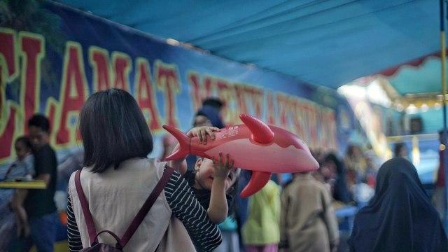 Foto: Sirkus Lumba-lumba di Palembang, Antara Polemik dan Edukasi (391598)