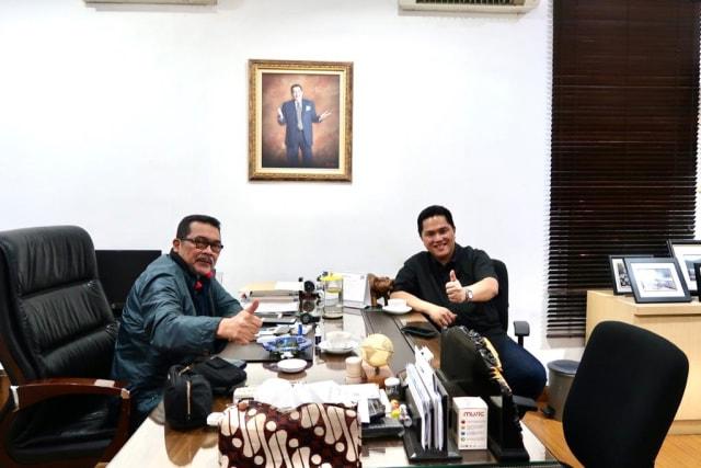 Wawancara Khusus dengan Komisaris Garuda Timbo Siahaan (249697)