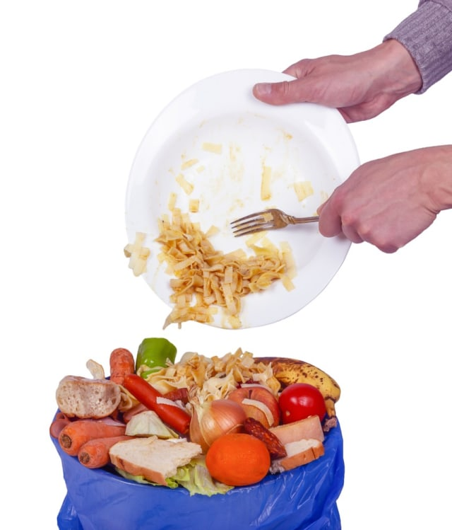 PTR, Ilustrasi makanan sisa