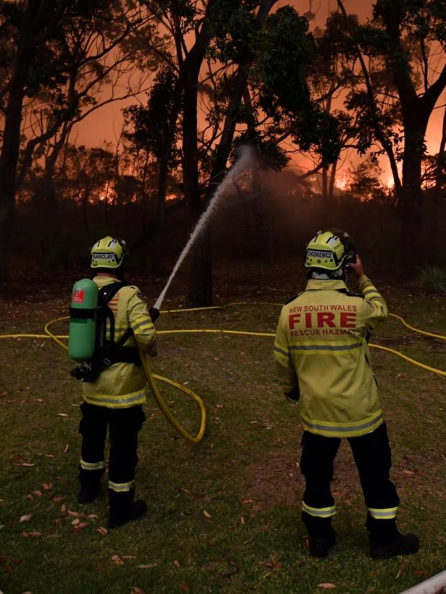Foto: Duka Cita Jokowi Atas Kebakaran Dahsyat di Australia (134857)