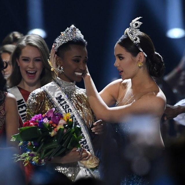 PTR, Miss Universe 2019, Zozibini Tunzi