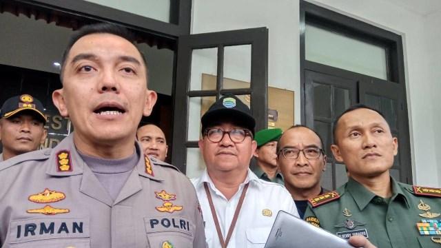 Kapolrestabes Bandung Kombes Irman Sugema
